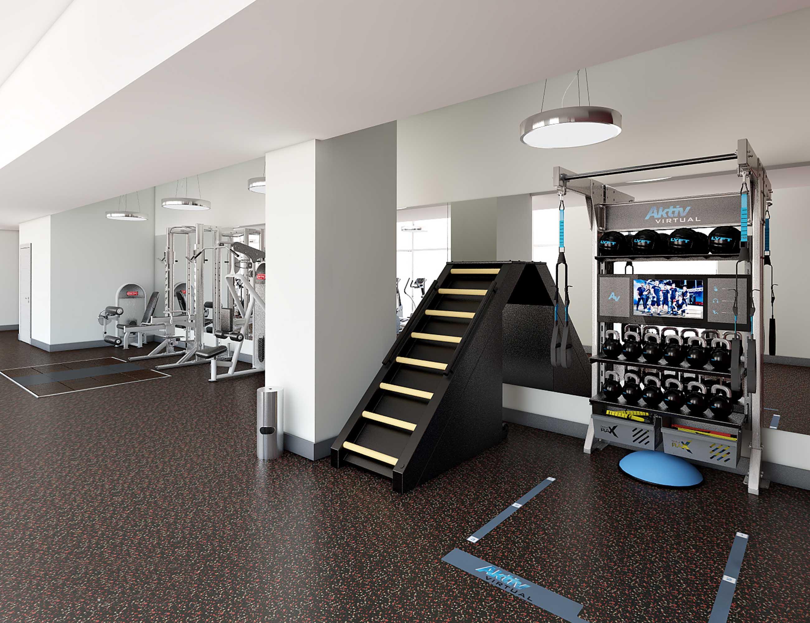 the rollins gym